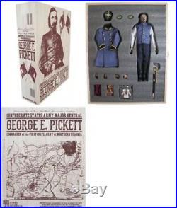 1/6 SIDESHOW 3R DID U. S. CIVIL WAR Confederate Major General George Pickett