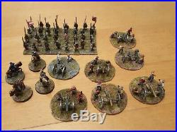 15mm civil war huge union army and confederate. + 500 painted and based figures