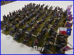 15mm metal painted American Civil War Confederate Army (set 1)