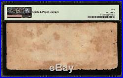 1861 $100 Confederate States Currency CIVIL War Note Only 5,798 Issued T-5 Pmg