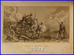 1861 1ed Southern Rebellion Confederate CIVIL WAR Illustrated Slavery Victor SET
