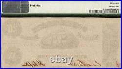 1861 $20 Confederate States Of America Currency CIVIL War Note T-9 Pmg 58