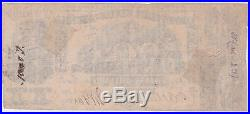 1861 $20 Twenty Dollar Bill Confederate States America Civil War Currency Note