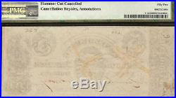 1861 $5 Dollar Confederate States Currency CIVIL War Note Money T-34 Pmg 55