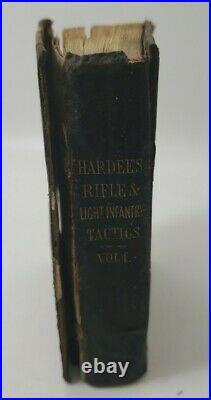 1861 Hardee Confederate Rifle & Light Infantry Tactic Battle Maps Civil War vol1