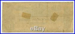 1861 T-29 $10 The Confederate States of America Note CIVIL WAR Era