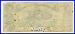 1861 T-6 $50 The Confederate States of America Note CIVIL WAR Era