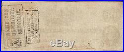 1862 $100 Dollar Bill Confederate States Currency CIVIL War Cotton Hoer Note T41