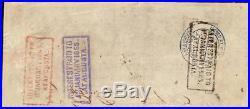 1862 $100 Dollar Clouds Error Confederate States Currency CIVIL War Money T-39