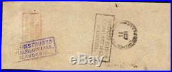 1862 $100 Dollar Confederate States Currency CIVIL War Hoer Note Paper Money T41