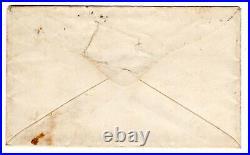 1862 CSA #1 Pocotaligo SC (DPO) to Camden Confederate Forwarded with #1 Civil War