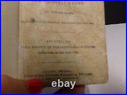 1862 NT Bible Society of the Confederate States- Civil War-Georgia printing