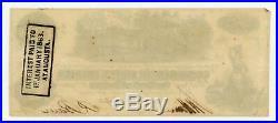1862 T-39 $100 Confederate States of America Note CIVIL WAR Era with TRAIN