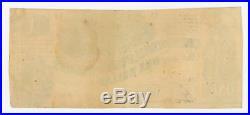 1862 T-44 $1 The Confederate States of America Note CIVIL WAR Era