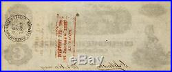 1863 A C $100 One Hundred Dollar Confederate Currency Note CIVIL WAR