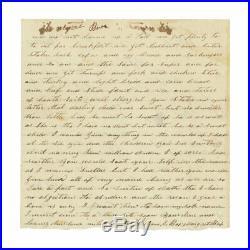 1863 Confederate Civil War Letter by Pvt. William I. Box, 3rd S. Carolina Btln