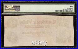 1864 $500 Dollar Bill Confederate States Note CIVIL War Paper Money T-64 Pmg