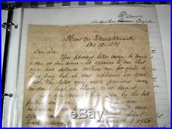 1864 Civil War Letter, Confederate Army, Gen. Rosser's Brigade, AAG William Porter