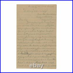 1864 Confederate Civil War Letter 25th VA -Gen. Lee will be victorious again