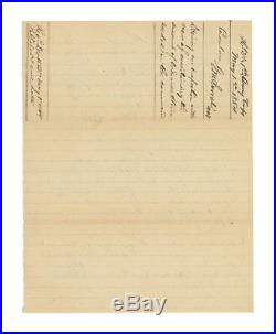 1864 Confederate Civil War Order to Kershaw's Division Signed by Moxley Sorrel