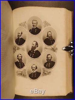 1867 Confederate The Lost Cause Pollard Civil War White Supremacy SLAVERY Map