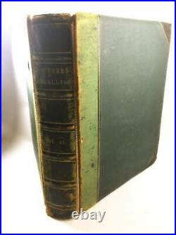 1867 Southern Rebellion FIRST EDITION vintage book Civil War Lincoln Confederate