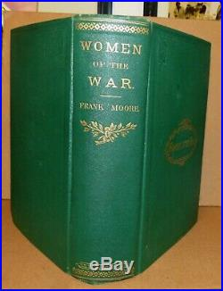 1867 Women Of War Nurses Confederate Union Gettysburg Battle Dixie Rebel CIVIL