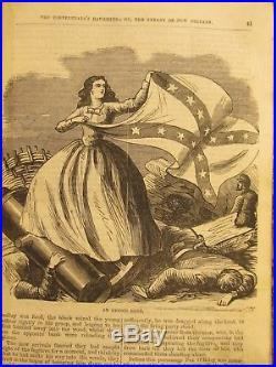 1870s THE CONFEDERATE'S DAUGHTER OR TYRANT OF NEW ORLEANS Rare Civil War Book
