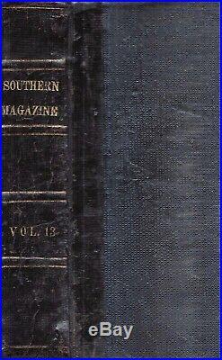 1873 Leather South John Brown's Raid W. Virginia CIVIL War Slavery Confederate