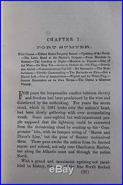1875 1stED BATTLES FOR THE UNION CIVIL WAR ABRAHAM LINCOLN CONFEDERATE SLAVERY