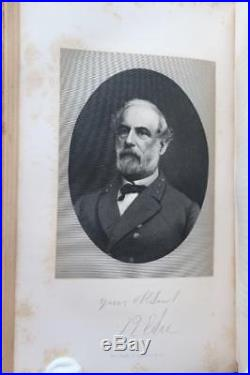 1875 Personal Reminiscences Of Robert E Lee CIVIL War Stonewall Confederate Csa