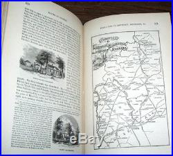 1876 CIVIL War Confederate Union Battles Slavery Lincoln Illustrated 3 Vols