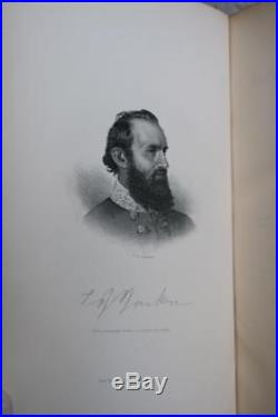 1876 Stonewall Jackson A Military Biography Civil War Confederate Deluxe Leather