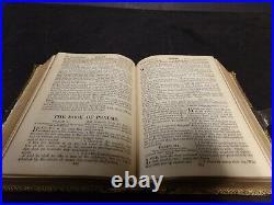 1880 Bible of Confederate Surgeon Civil War O'Hagan Greenville NC