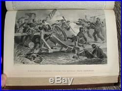 1882 CIVIL War History Military Army Navy Union Confederate Grant Lee Antique Us