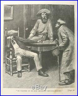1883 Confederate BLACK MAMMY DIALECT TALES Southern Slavery Civil War PLANTATION
