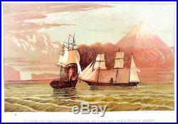 1887 CONFEDERATE NAVAL Gun Boat Sailor BLOCKADE RUNNER Civil War Marine CS NAVY