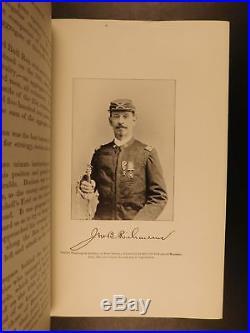 1896 1ed Confederate General James Longstreet Manassas to Appomattox CIVIL WAR