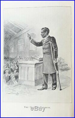 1898 Slavery WHITE OR BLACK, A MAN Civil War CONFEDERATE SOUTH African American