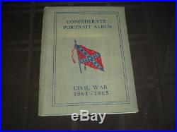 1904 American Chicle Kis-Me Gum Confederate Generals Album with 141 Cards + Pack