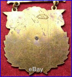 1907 UCV United Confederate Veterans Reunion Medal Richmond VA Civil War