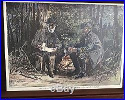 1970s Civil War Confederate Reenactors Replica Colt Display