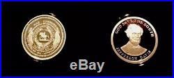 2-1 Oz Silver Csa Confederate Coins CIVIL War Battlefield Confederate Silver