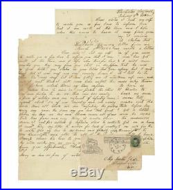 2 Confederate Civil War Letters 21st Virginia Shenandoah Valley Campaign