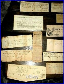 26pc 1850-90s CONFEDERATE McMinnville 35TH TN Tennessee CIVIL WAR ARCHIVE Byers