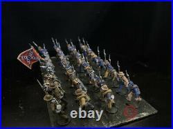 28mm American Civil War DPS painted Confederate N. Virginia Regiment GH3641