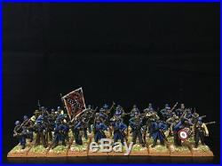 28mm American Civil War Plastic DPS painted Confederate Infantry GH1527