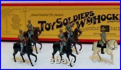5pc Set William Hocker No 349 Confederate Cavalry Toy Soldiers Civil War