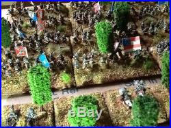 6mm Adler miniatures American civil War Confederate Army and Union Army