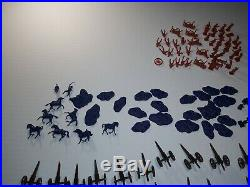 Airfix Civil War Soldiers Huge Lot of Figures -Confederate Union 1/72 HO/OO
